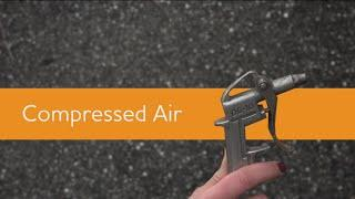 Compressed Air - Supervisor Safety Tip Series