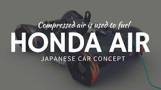 Compressed AIR CAR: Honda Air as the transport of the future