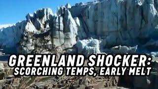 Climate Change: Greenland Melt Season Starts Two Months Early