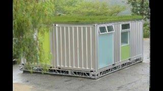 Building Beautiful Shipping Container Homes