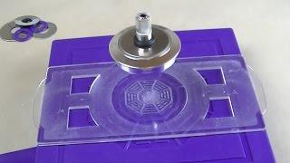 Amazing Magnetic anti gravity Toy - UFO Magnetic Levitation Spinning Gyroscope  Science Toys