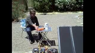 "Solar Power System - DIY ""Small Scale"" off-grid solar electric system (runs almost anything)"