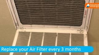 Energy Efficient Air Filters Tips  for Sizzlin' Summer Energy Savings