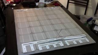 DIY Vacuum laminated solar panel