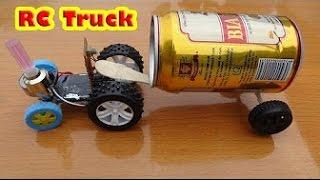 How to make a Car ( Electric Truck ) Tractor - RC TRACTOR//Worlds Artist