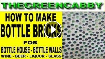 How to make bottle bricks wine bottle wall green for How to build a bottle wall