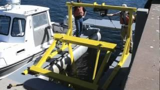 UNH Hydrokinetic Turbine 35ft Test Platform - Tidal Energy