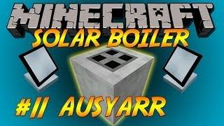 FTB Solar Boiler, Green power with factorization & powerconvertors Let's Play Ep11