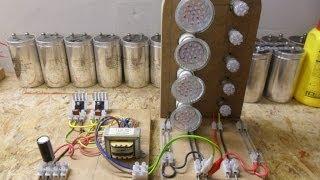 Joule Thief_HF Inverter_Oscillator - Update 5 Transistor Royer Oscillator Circuit...