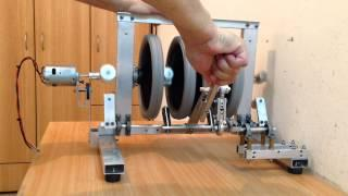 Hand Permanent Magnet Generator (free energy low tech machine?) Magnet operating system