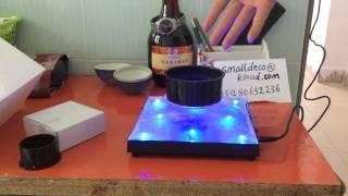 Maglev magnetic levitation platform floating rotating holder stand globe display