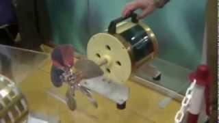 Der Yildiz-Magnetmotor bei der Erfindermesse in Genf 2013