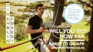 Adrenalin Forest 30 sec TV advert-   New Logo
