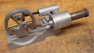 HOW TO MAKE A STIRLING ENGINE pt 3 of 4 tubalcain on the Clausing lathe