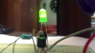 Super Inductor Simple Joule Thief