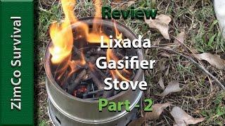 Lixada Gasifier Stove - Review (part 2)
