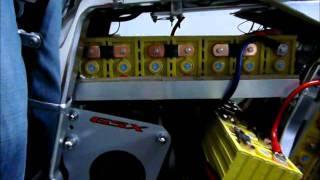 "Suzuki GSX R 750 EV Conversion 6 - 1ª volta ""eléctrica"""