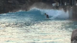 Surfing Typhoon Lagoon