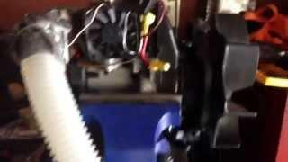 Homemade two stroke compressed air engine/generator
