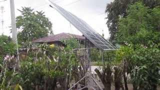 DIY solar tracker test