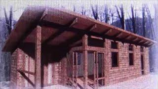 Tiny House Cabin Highly Energy Efficient Off Grid