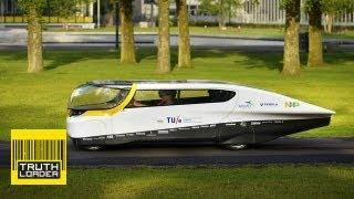 First solar powered family car unveiled - Truthloader Investigates