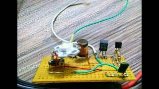 one coil joule thief (ultra bright Led Light)