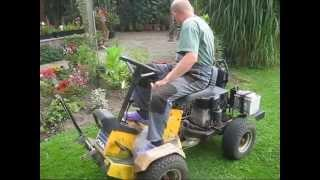 GEET Rasenmäher läuft mit Altöl und Wasser