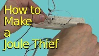 Make a Joule Thief for Zombie Batteries