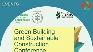 Green Building and Sustainable Construction Conference, Kalikasan GP3 2015