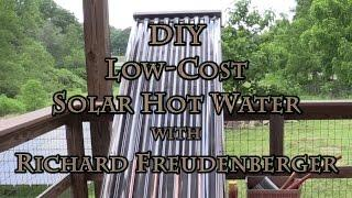DIY Low Cost Solar Hot Water