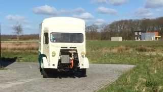 Maiden Ride Citroen HY EV Conversion