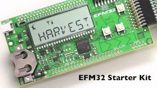 Smart Energy Harvesting using LTC3588 and EFM32 Cortex-M3 microcontroller