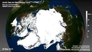 Arctic Sea Ice Melt Season 2015