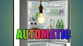 DIY AUTOMATIC FRIDGE OPEN DOOR LIGHT