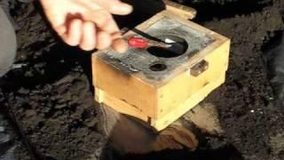 Metal Casting at Home Part 3. Backyard foundry