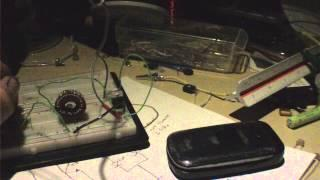 LDR Dark Sensing High Power 1.5V Joule Thief Lamp Pt. 2