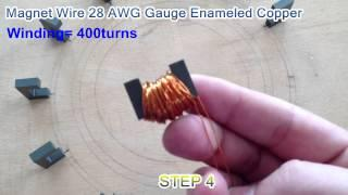 BUILD A SEARL EFFECT GENERATOR STEP 3 & 4