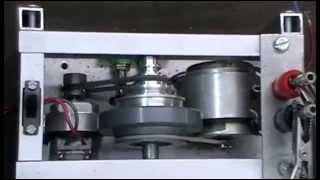 Chas Campbell fly wheel generator minimodel 9 Volt
