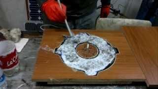 DIY VAWT   Part 3 Wind Generator Stator Casting