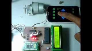Android Remote Controller based Speed Control of DC Motor using PWM