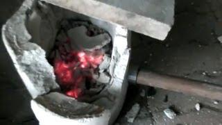 Explosion of Homemade Backyard Foundry Furnace Torch