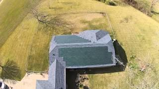 Dow Powerhouse Solar Shingles 8 kw system in Wharton,Texas