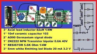 Make Super Efficient Joule Thief DIY-Circuit!