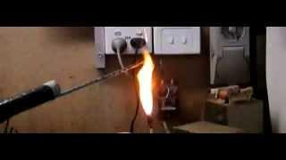 High Voltage Arc Plasma, Slow Motion, Beautiful!