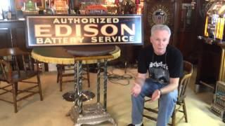 Jim Schafer review the Edison battery service self framed t