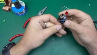Common mode choke Joule Thief build