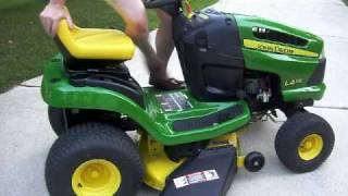 John Deere Electric-Converted Lawn Tractor LA115