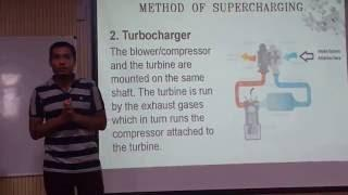 supercharger and turbocharger in IC engine