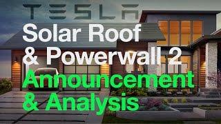 REPORT: Tesla Solar Roof & Powerwall 2